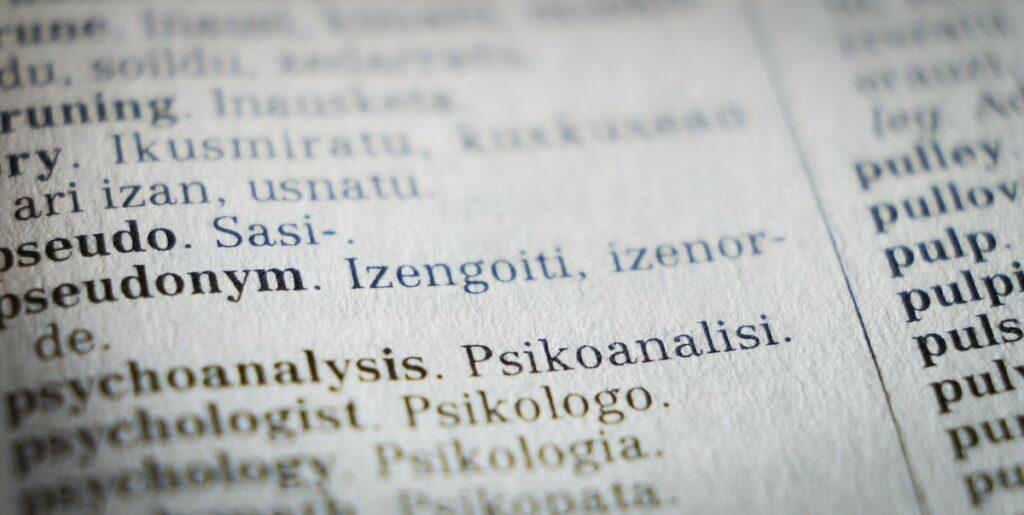 word translation